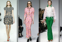 Přehlídky Prague Fashion Week: Po mole chodí obživlé kostry!
