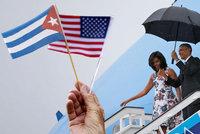 Poprvé po 88 letech: Americký prezident přiletěl na Kubu
