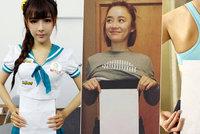 Nebezpečná internetová výzva: Dívky se schovávají za list papíru! Proč?