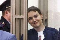 """Ruští vojáci dostali v Kyjevě 14 let """"natvrdo"""". Vymění je za Savčenkovou?"""
