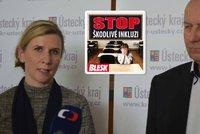 Ministryně Valachová po návštěvě v Ústeckém kraji, který odmítá inkluzi: Nejsme v rozporu