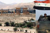 Do starodávné Palmýry vstoupila syrská armáda. Chce ji vyrvat ze spárů ISIS