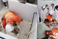 Krkavčí matka spláchla novorozeně do záchoda: Holčičku zachránili z odpadní trubky!