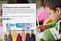 Reportáž švýcarského deníku o inkluzi: Trosky krásné myšlenky