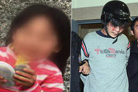 Tvář šílence, který usekl hlavu 3leté holčičce: Policisté ho museli chránit před lynčem