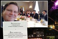 Na Hradě byl býček, nad Prahou ohňostroj a Škromach má čínské selfie