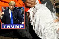 Mučení při výslechu? Dvě třetiny Američanů a Trump souhlasí