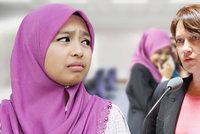 6dc38ebef20 Ministryně pro práva žen přirovnala muslimky k černým otrokům