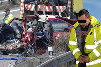 Řidič rumunského kamionu smrti jde do vazby: Za usmrcení z nedbalosti mu hrozí 6 let vězení