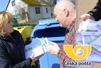 Složenky i dopisy: Zásilky České pošty skončily mezi odpadky