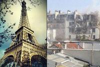 Exploze roztrhala dům v Paříži: Úřady evakuovaly obyvatele
