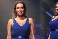 Prsatá miss Králová se po 3 letech vrátila na mola: Ohromila nadupaným hrudníkem!