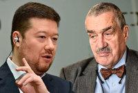"Okamura vyvracel ""mýty o Rusku"". Schwarzenberg: Propaganda Kremlu boduje"