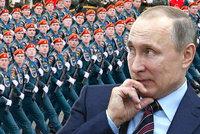 Putin vybudoval armádu pro boj s terorismem. Gardu bude řídit osobně