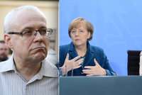 """Vydírala spojka Merkelové Čechy kvůli uprchlíkům? """"Nesmysl,"""" odmítá to Špidla"""
