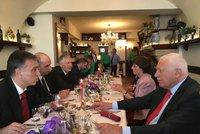 """""""Vstupte do EU, snáz se rozpadne."""" Klaus vtipkoval s prezidentem Černé Hory"""