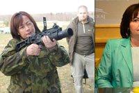 """""""Doufám, že manžel bude hrdý."""" Ivana Zemanová dostala armádní medaili"""
