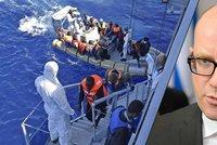 Braňme Itálii, vyzývá Sobotka. Migranti začali hledat nové trasy do nitra Evropy