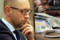 Odstoupil Jaceňuk kvůli korupci? Na Ukrajině vyšetřují úplatek expremiéra