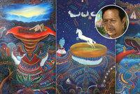 Zloději ukradli tři vzácné obrazy od syna šamana: Zmizely cestou na výstavu!