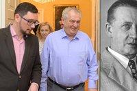 Hitler gentlemanem není. Zeman soud o Peroutku opět prohrál, má se omluvit