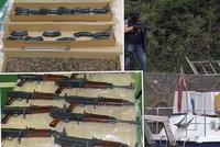 Pašeráci převáželi obří zásilku českých zbraní za miliony: Komu je chtěli prodat?
