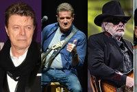 Rok 2016 zabíjí hudební velikány: Odešli Bowie, Frey, Haggard a teď Prince