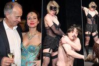 Chlípný Vyskočil nacpal sex i do divadla: Sado-maso v podvazcích, zmlácení herci a hluboký výstřih Arichtevy!