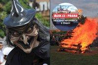 16 tipů na pálení čarodějnic v Praze: Od hudebních koncertů až po rodinná odpoledne