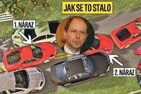 Vteřinu po vteřině: Jak vypadala nehoda Josefa Tošovského?