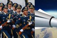 Nadzvuková hrozba Číny: Jakýkoliv cíl na planetě zasáhne do hodiny
