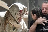 Nálety zabily až 60 osob v důležité syrské nemocnici. Dochází jídlo i léky