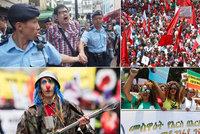 V Číně se pobili, na Ukrajině vzývají Stalina. Svět slaví 1. máj