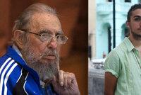 Vnuk Fidela Castra je model: Na přehlídkovém mole měl premiéru
