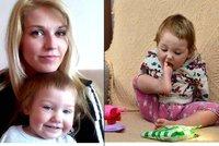 Lilianka (16 měsíců) se narodila bez horních končetin: Maminka Eliška se v šoku ptala: A ručičky jí dorostou?