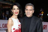 George Clooney se stal otcem: Jeho Amal mu porodila dvojčata Ellu a Alexandera