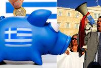 Řecko dál dusí dluhy. Po reformě důchodů a daní ale dostane další peníze