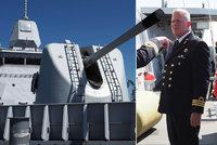 Uvnitř plovoucí pevnosti NATO. Blesk navštívil klíčovou loď raketového štítu