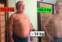 Václav Svoboda alias Lumír Nykl z Ulice: Zhubl 14 kilo za 3 měsíce!