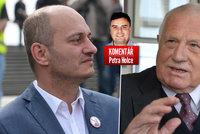 Komentář: Klausův institut vidí vzedmutí občanů. Pomůže Konvičkovi mlít muslimy?