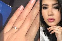 Anální pornohvězdička Lady Dee Jůzová se zasnoubila: O ruku požádala přítele sama