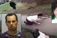 Žena honila matku se sekáčkem na maso: Policista ji zastřelil