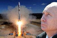Putinovu zlobu střídá radost. Nový kosmodrom se pochlubil videem z rakety