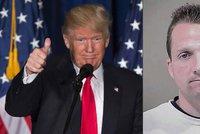 Skandál kolem Trumpa: Výroba dětského porna, výbušniny v poště a kulomet doma