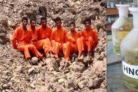 ISIS rozpustil 25 lidí v kyselině. Jeho nepřátelům rozežrala vnitřní orgány
