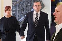 Nečasová odmítla, že Rittigovi řekla utajovanou informaci. U soudu je i Nečas