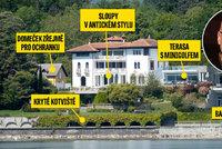 Uhlobaron Bakala a jeho švýcarský luxus za peníze z OKD: Tady horníky nepotká