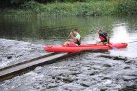 Vodáci, do lodí: Po dlouhém suchu jsou řeky zase sjízdné