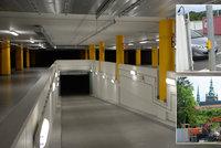 Garáže u Hradu a naproti Spartě: Řidiče potěší 1100 nových parkovacích míst