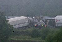 Vlakové neštěstí v Belgii: Zahynuli tři lidé, 40 zraněných